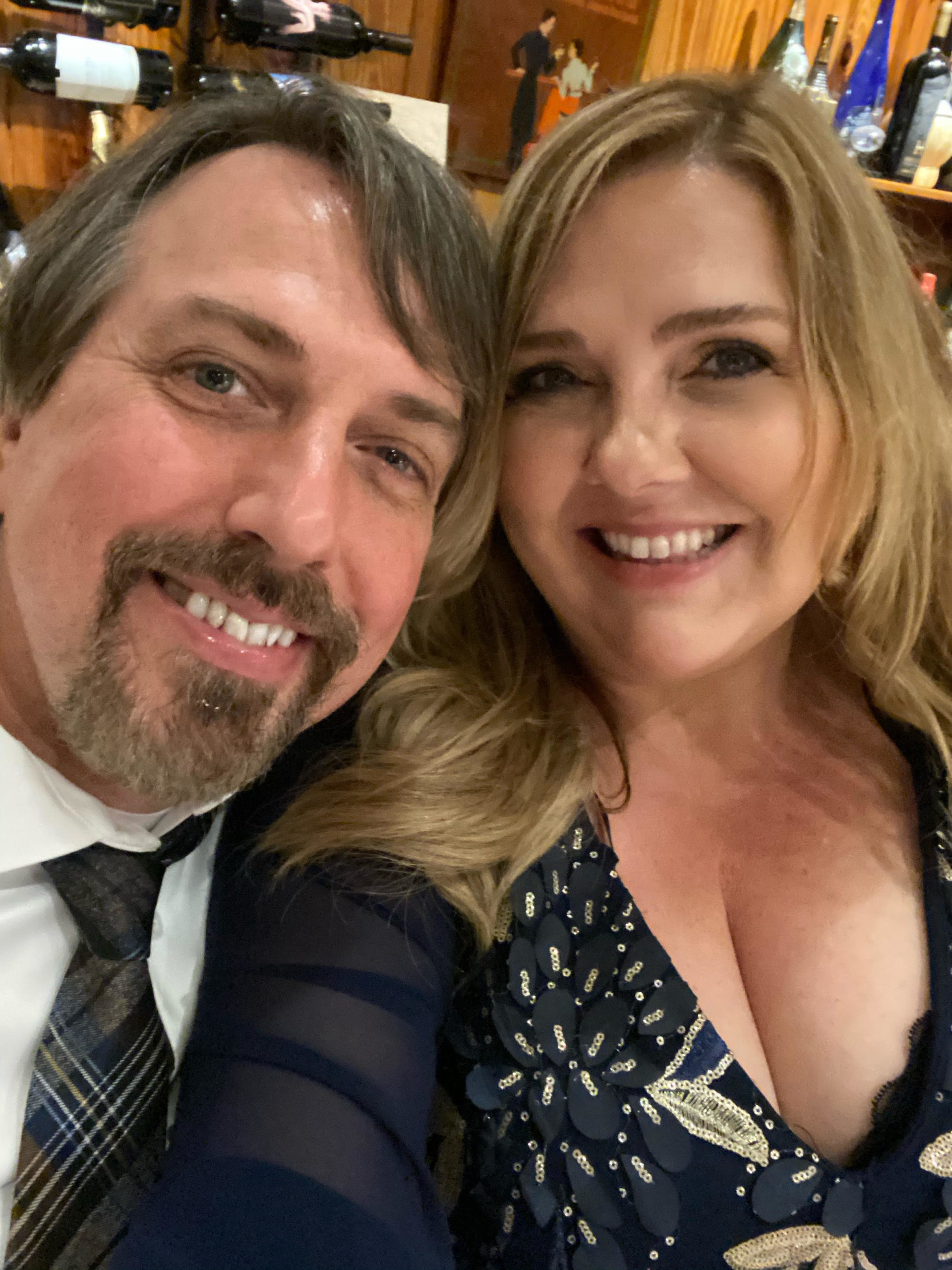 Gary Grant and Talesha Hogan